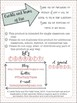 Spelling Activity List *Freebie*