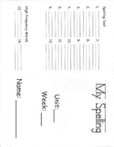 Spelling Activity Sheets