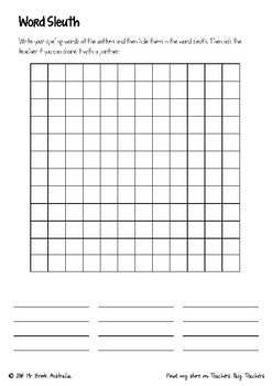 Spelling Activity Task Book