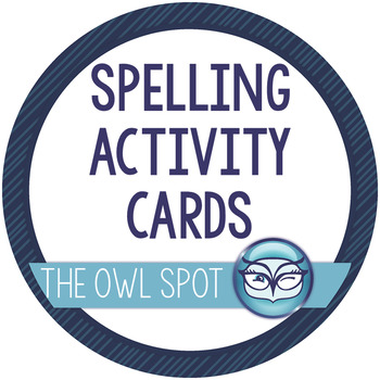 Spelling Activities - Spelling, Vocabulary, Centers and Homework for Grades 3-6