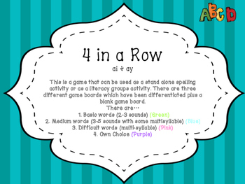 Spelling Activity (ai and ay)