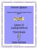 Spelling - Adding Suffix es - 3rd Grade