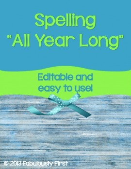 """""""Spelling All Year Long"""""""