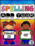 Spelling All Year {Week 28 - Bossy R (ar)}