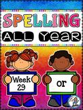 Spelling All Year {Week 29 - Bossy R (or)}