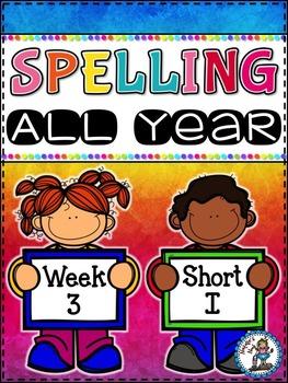 Spelling All Year {Week 3 - Short I Words}