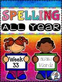 Spelling All Year {Week 33 - au/aw Words}