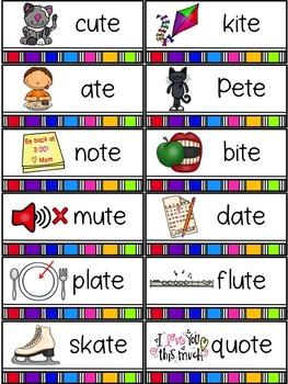 Spelling All Year {Week 7 ~ Magic e (CV te)}