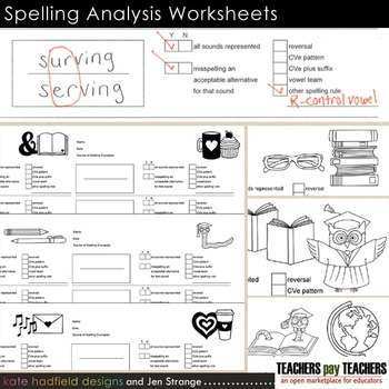 Spelling Analysis Worksheet for Teachers and Students