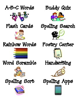 Spelling Apps for Common Core - FREE LABELS