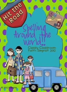 Spelling Around The World Activity