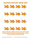 Spelling Assignment for Any List- Goldfish Word Sort