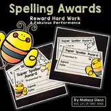 Spelling Award Certificate