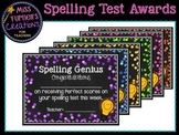 Spelling Awards