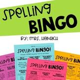 Spelling BINGO!