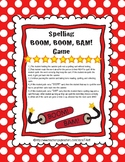 Spelling BOOM, BOOM, BAM! Game