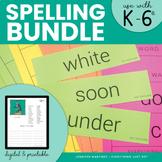 Spelling BUNDLE: Spelling Fluency, COPS, Spelling Dictiona