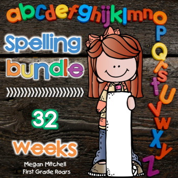 Spelling BUNDLE: Weeks 1-32