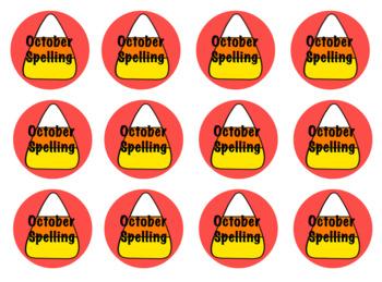 Spelling Badges