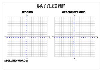 Spelling Battleship
