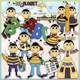 Spelling Bee Clip Art - Spelling Clip Art - Back To School - CU Clip Art & B&W