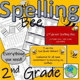 Spelling Bee - 2nd Grade, All you need to develop your own (176 pages)