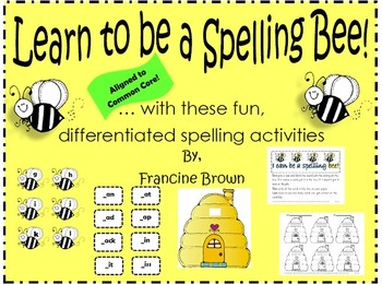 Spelling Bee Activities