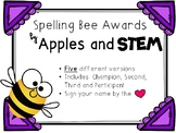 Spelling Bee Awards and Certificates