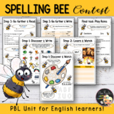 Spelling Bee Contest - EFL Worksheets