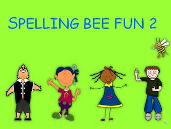 Spelling Bee Fun 2