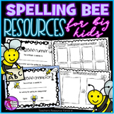 Spelling Bee resource