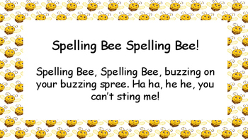 Spelling Bee Spelling Bee! Kindergarten Spelling Game! (Full Year)