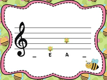 Spelling Bee: a Collection of Activities for Teaching the Treble Clef