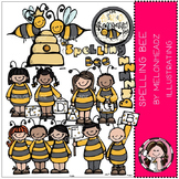 Spelling Bee clip art - COMBO PACK- by Melonheadz