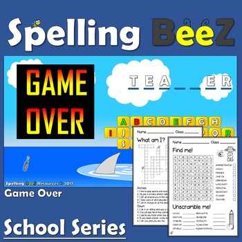 Back to School Game (People)