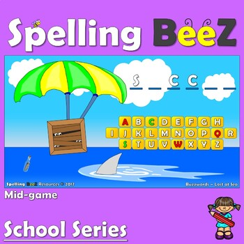 Spelling BeeZ Back to School Game (Sports)