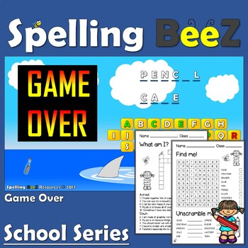 Back to School Game (Stationery)