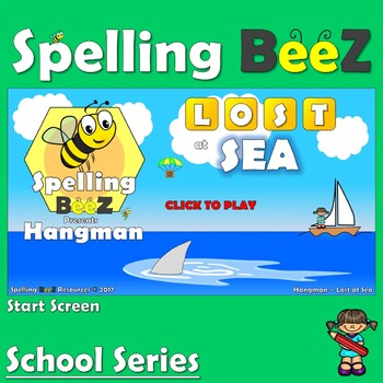 Spelling BeeZ Back to School Game (Subjects)