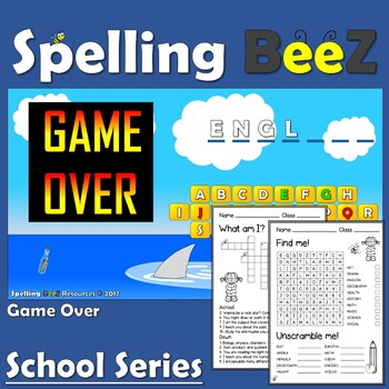 Back to School Game (Subjects)