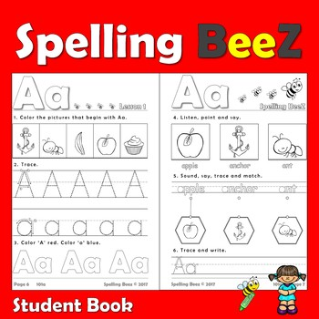 Spelling BeeZ Phonics (Course: 101a)