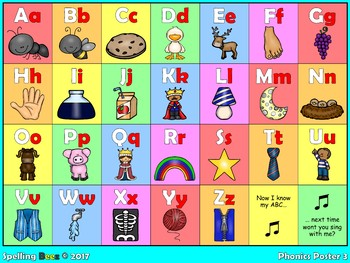 Spelling BeeZ Phonics Posters