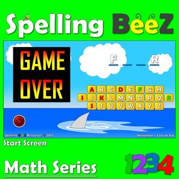 Spelling BeeZ Hangman Game (50 Word Bundle)