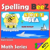 Spelling BeeZ Hangman Game (50 Word Bundle)