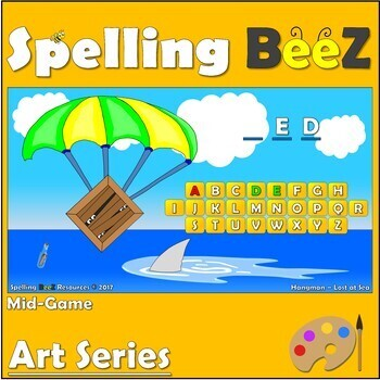 Spelling BeeZ Art Game (Colors)