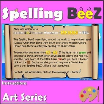 Art Game & Printables (Colors)