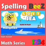 Spelling BeeZ Math Game (Numbers 1-10)