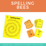 Orton-Gillingham Spelling Review Activity - Spelling Bees