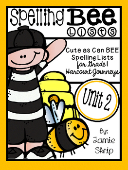 Spelling Bees [Cute As Can Bee Sp. Lists for Gr. 1 - Harco