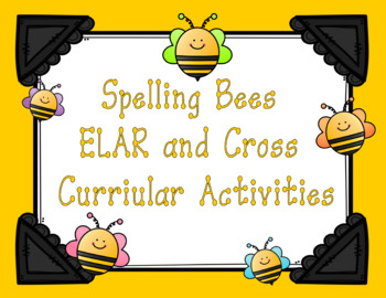 Spelling Bees-Hands On Spelling Manipulatives