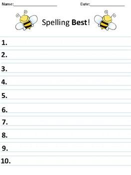 Spelling Best